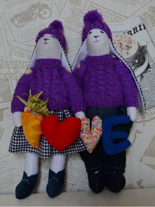 Влюбленные зайцы 2