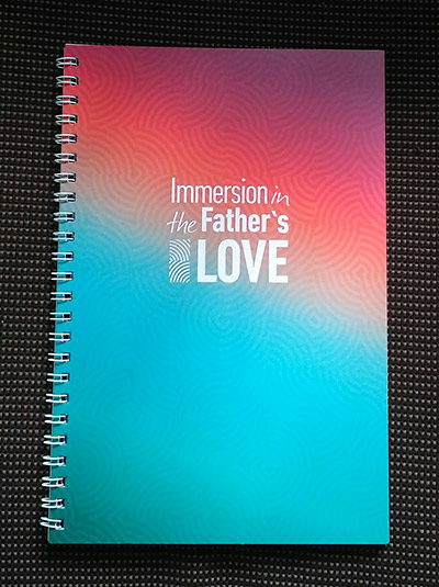 "Тетрадь с логотипом ""Immersion in the Father""s LOVE""- ""Погружение в любовь Отца"