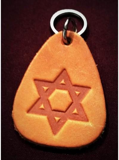 Брелок на ключи с еврейской символикой