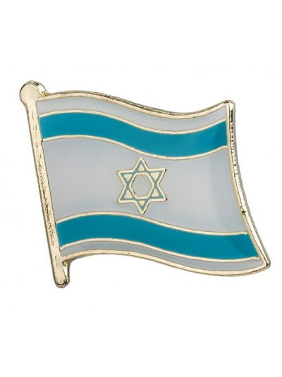 Значок на одежду флаг Израиля