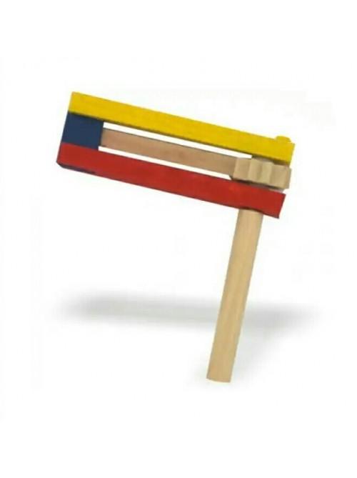 Трещетка на Пурим разноцветная