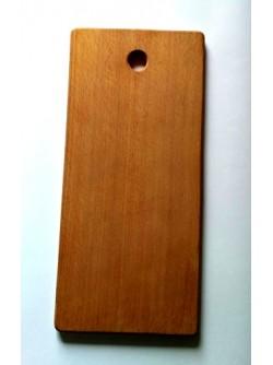 Доска разделочная для хлеба, деревянная, 34*15,5*1,5см