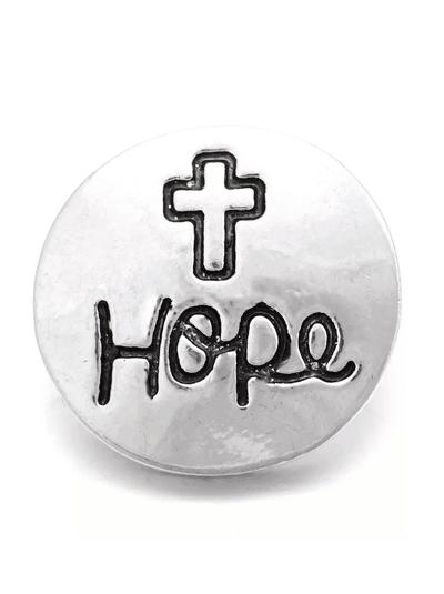Кнопка съемная в стиле Нуса - NOOSA Style | HOPE - Надежда
