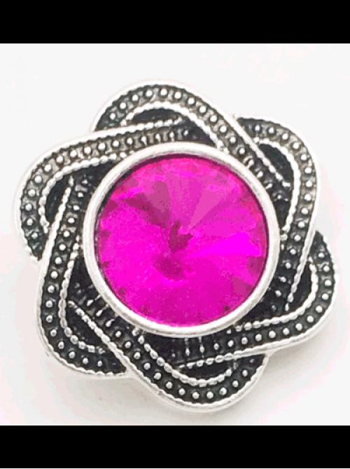 Кнопка съемная | Браслет, брелок NOOSA Style | Цветочек