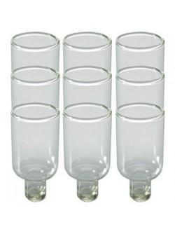 Прозрачные стаканчики для масла | Стаканчики для зажигания ханукии 4,7 см*3 см