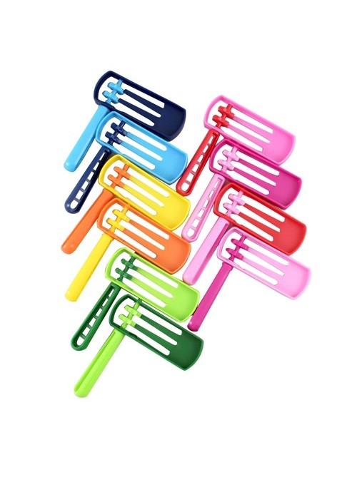 Трещетка на Пурим разноцветная 11 см *