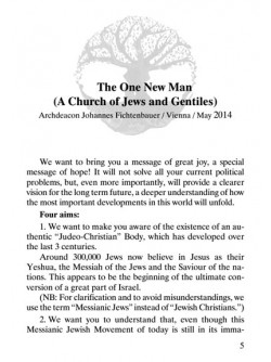 The One New Man    (A Church of Jews and Gentiles)